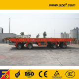조선소 차량/편평한 침대 트레일러/평상형 트레일러 트럭 (DCY100)
