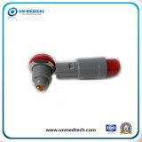 De dos terminales de conector Lemo ODU / Toma para uso médico