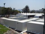 Полуфабрикат дома контейнера 20ft с всеми общими назначениями установили
