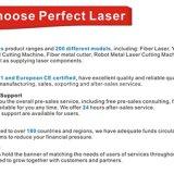 絶妙なレーザ光線のシート・メタルレーザーの打抜き機の価格