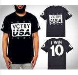 Shirt-Drucken-Zeichen der Form-hochwertigen kundenspezifischen Männer