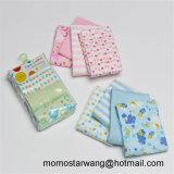 Manta de punto Manta de empañar algodón bebé impreso con alta calidad