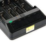 Xtar Vp4 - carregador do íon do lítio do LCD de 4 louros
