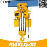 전기 트롤리 (HHBB05-02SE)를 가진 기계를 게양하는 5 톤
