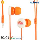 すべてのSmartphonesのためのMic、多彩なイヤホーンおよびヘッドホーンが付いている耳のイヤホーンそしてヘッドホーン