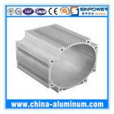 Perfis de alumínio industriais anodizados prata