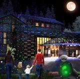 플라스틱 주거에 있는 실내와 옥외 Laser 크리스마스 불빛