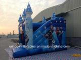 Aufblasbarer Prahler des heißen Verkaufs-2016 für Kinder, aufblasbares gefrorenes Schloss, aufblasbarer springender Prahler