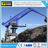 Grue portique d'équilibre de port d'équilibre extraterritorial de dérouleur pour le matériau en bloc