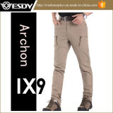 4 pantalones ocasionales tácticos de los pantalones al aire libre del arconte de Esdy IX9 de los colores