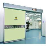 Porte rayée par fil coulissante automatique antirayonnement de HPL