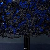 Meios vestidos do baile de finalistas do Short do laço do cetim da luva (TM-MS032)