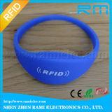 O Wristband ajustável de NFC para atividades Waterproof o logotipo personalizado