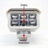 Videocamera alimentata solare impermeabile con la scheda di deviazione standard 4GB
