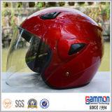 رخيصة خمر أحمر مفتوحة وجه درّاجة ناريّة خوذة ([أب202])