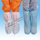 Cubierta disponible del zapato quirúrgico de /CPE/PP +CPE del PE de Nonwoven/PP/