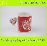 Heiße Verkaufs-Valentinstag-Entwurfs-Kaffeetasse 11oz