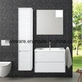 Nordamerika-moderne Art Belüftung-Badezimmer-Eitelkeit mit keramischem Bassin