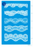 Cordón del punto para la ropa/la ropa/los zapatos/bolso/caso 3217 (anchura: los 7cm)
