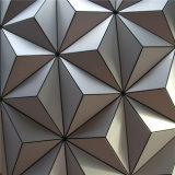 panneaux de revêtement en aluminium comiques du mur 3D