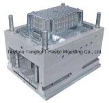 Molde de inyección de plástico Foldablecontainer
