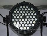 54PCS*1/3W imprägniern RGBW IP65 LED NENNWERT Stadiums-Licht