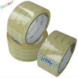Bande adhésive acrylique transparente d'emballage de la bonne qualité BOPP