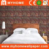 Office/Hotel (S-20061)를 위한 Interior 베스트셀러 3D Stone PVC Vinyl Wallpaper