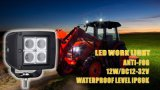 卸売価格! 公認12W LED Work Light、TrucksのためのFlood Beam