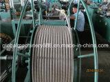 Edelstahl-gewölbter flexible Metall-Gaswasser-Schlauchleitung-Produktionszweig