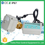 Клапан беспроволочного датчика электрический моторизованный для регулятора обнаружения детектора утечки воды