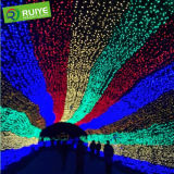 Décoration multicolore d'hôtel de Noël d'éclairage LED de scintillement magique