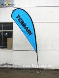 2.8m Ausstellung-bewegliche Fliegen-Aluminiumfahne/Teardrop-Markierungsfahne