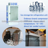 escaninho de armazenamento do gelo 420L com -12 graus C