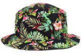 Chapéu 100% verde do pescador do chapéu da cubeta de Kelly do algodão popular da fêmea 2017