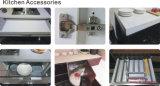 紫外線木の穀物MDFの食器棚(ZH09)