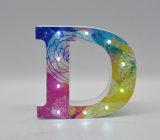 Luz bonita e colorida da decoração do diodo emissor de luz do MDF