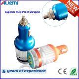 Всеобщий заряжатель автомобиля USB нержавеющей стали молотка безопасности 2.1A