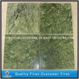 Tuiles de marbre vertes d'étage et de mur de salle de bains de cuisine de la Chine Dandon