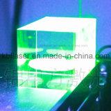 유리제 결정을%s 3D 초록불 Laser 조각 표하기 기계
