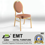 간결한 작풍 둥근 금속 결혼식 연회 의자 (EMT-R38)
