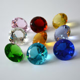Colorful Color Cut Crystal Diamond Paperweight Wedding Favor