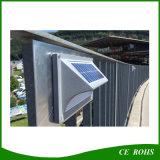 太陽動力を与えられた行動探知機の無線5LED高い明るさGセンサーの壁の台紙夜ライト