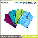 Saco de corda Foldable de Polyfilament Jersey do logotipo feito sob encomenda