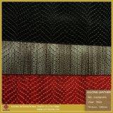 Nette Farben-synthetisches Leder für Schuhe (S187085JSYS)