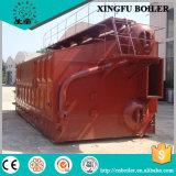Carbón automático horizontal industrial de 2 toneladas/caldera de vapor encendida biomasa