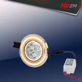 Lámpara blanca del techo LED del bulbo redondo LED de Hpzm