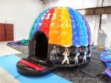 Het populaire Huis van de Disco van de Koepel van Jonge geitjes Opblaasbare, de Opblaasbare Springende Uitsmijter van de Koepel