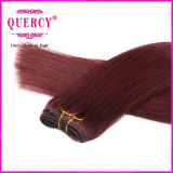 Человеческие волосы красного цвета Remy девственницы 2016 новых продуктов покрашенные волосами камбоджийские