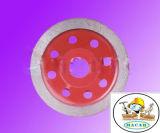 El diamante de la alta calidad vio la rueda continua de la taza de Turbo de la lámina